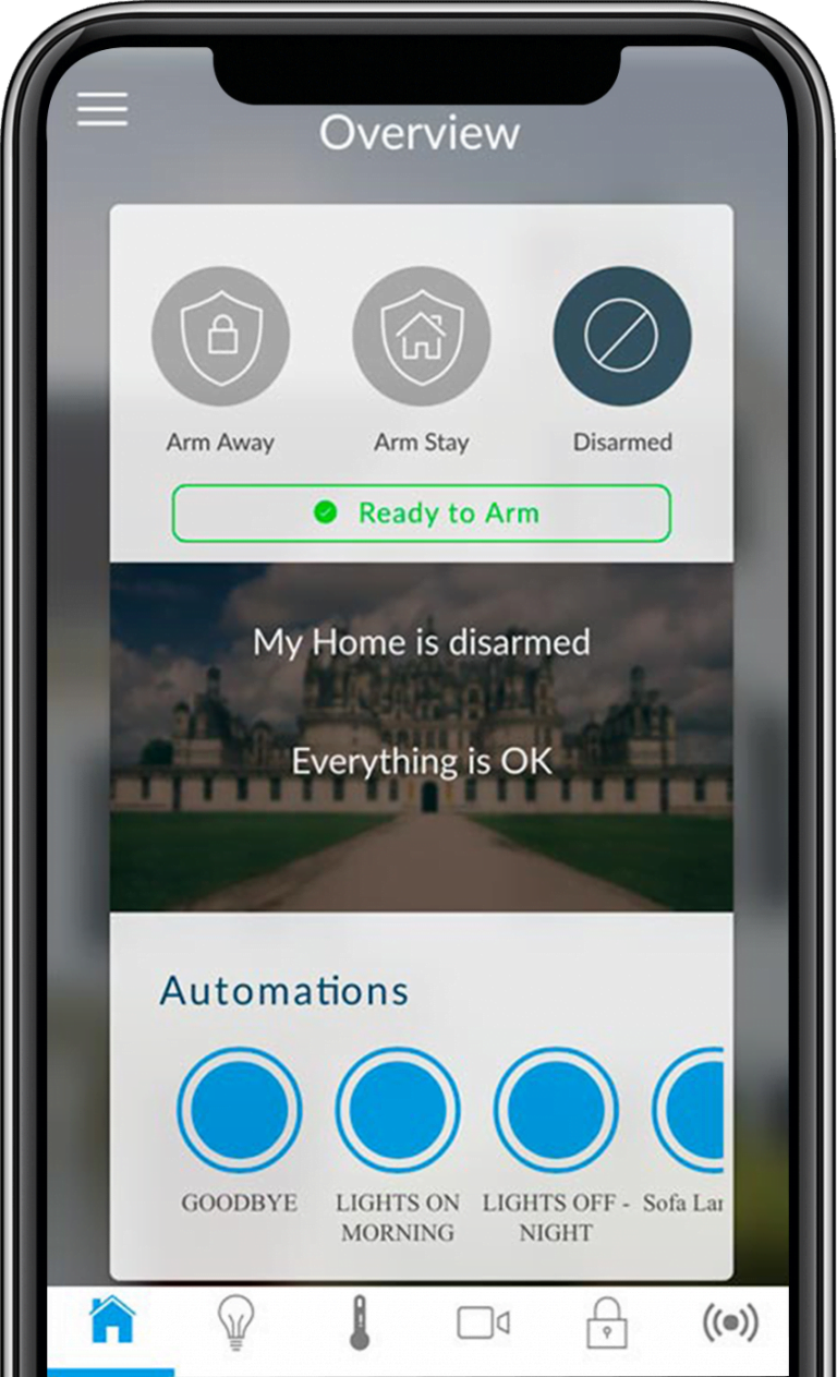 truSafe Home Security App